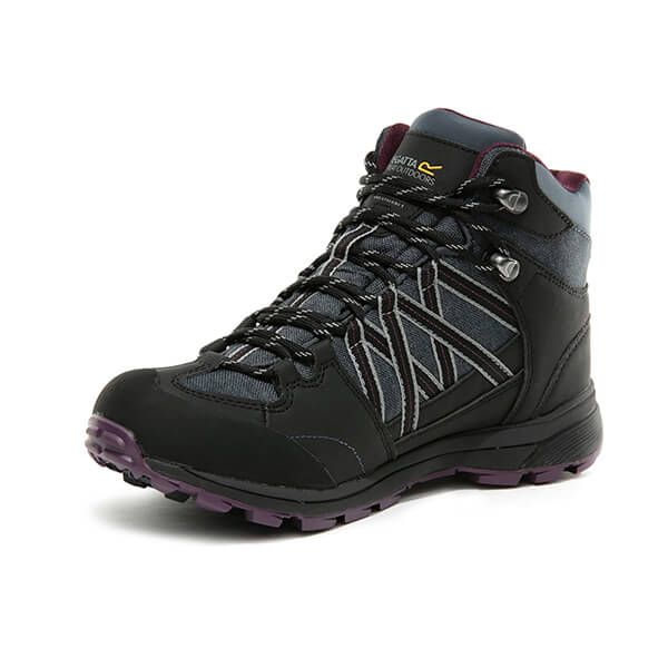 Regatta Women's Samaris II Mid Walking Boots Seal Grey Prune