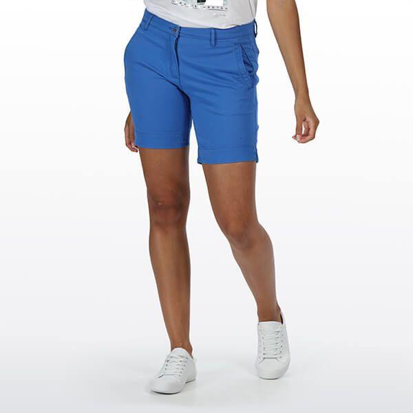 Regatta Women's Solita II Chino Shorts Strong Blue