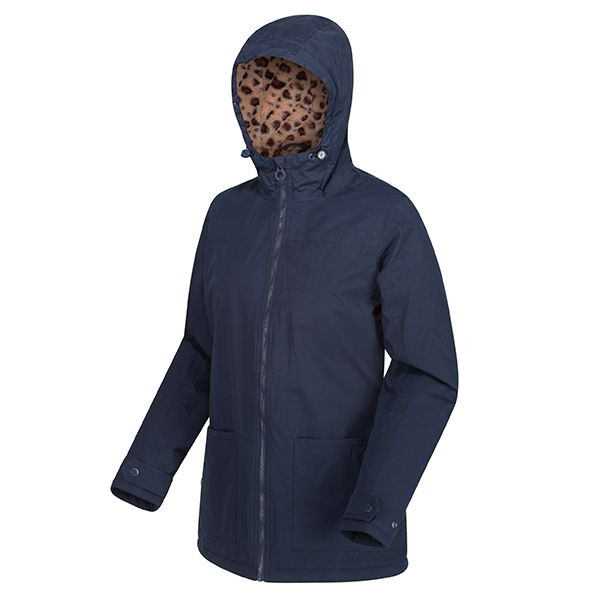 Regatta Navy Bergonia II Waterproof Insulated Hooded Jacket