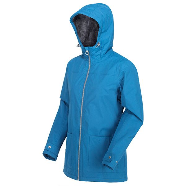 Regatta Blue Sapphire Bergonia II Waterproof Insulated Hooded Jacket
