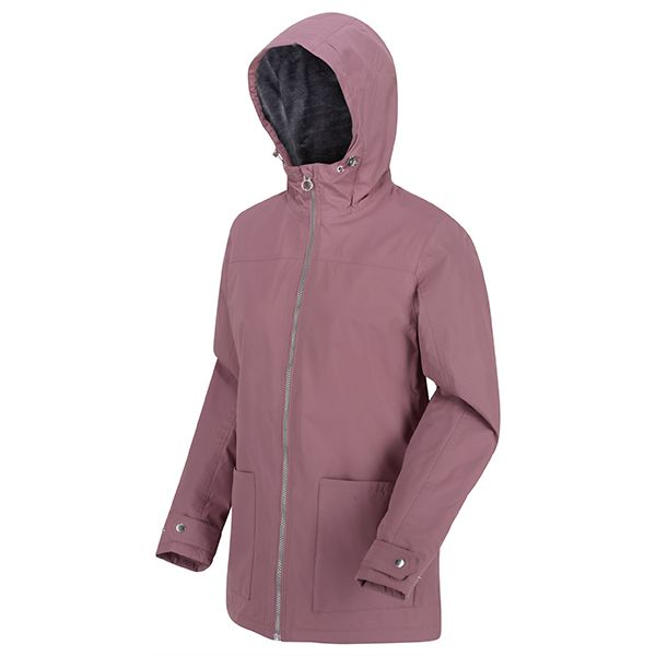 Regatta Dusky Heather Bergonia II Waterproof Insulated Hooded Jacket