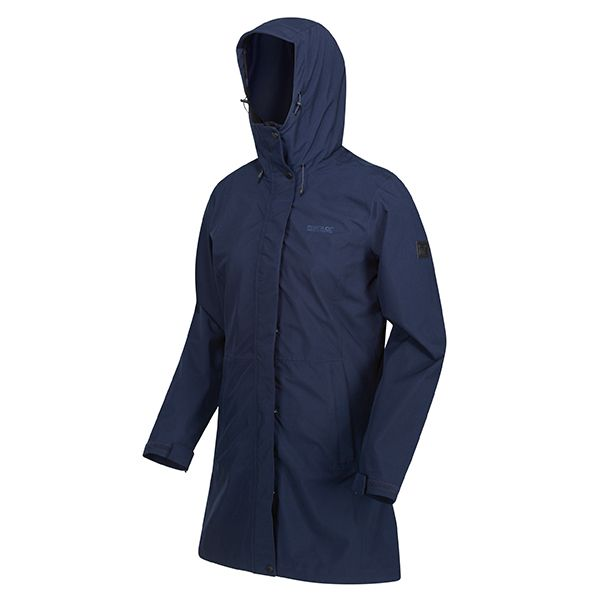 Regatta Navy Denbury 3 In 1 Waterproof Hooded Walking Jacket