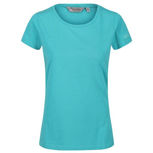 Regatta Women's Carlie Coolweave T-Shirt Turquoise