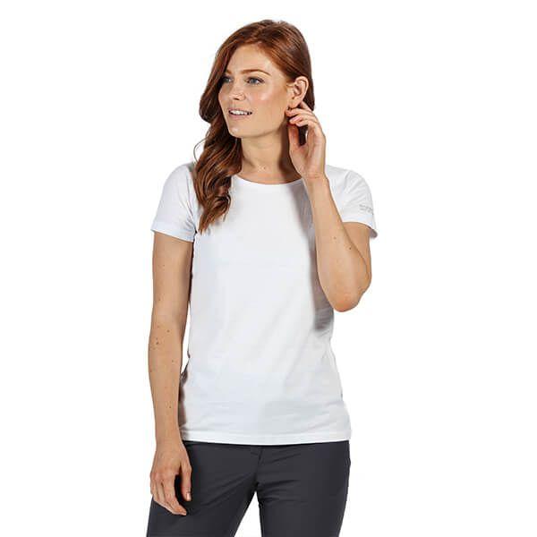 Regatta Women's Carlie Coolweave T-Shirt White