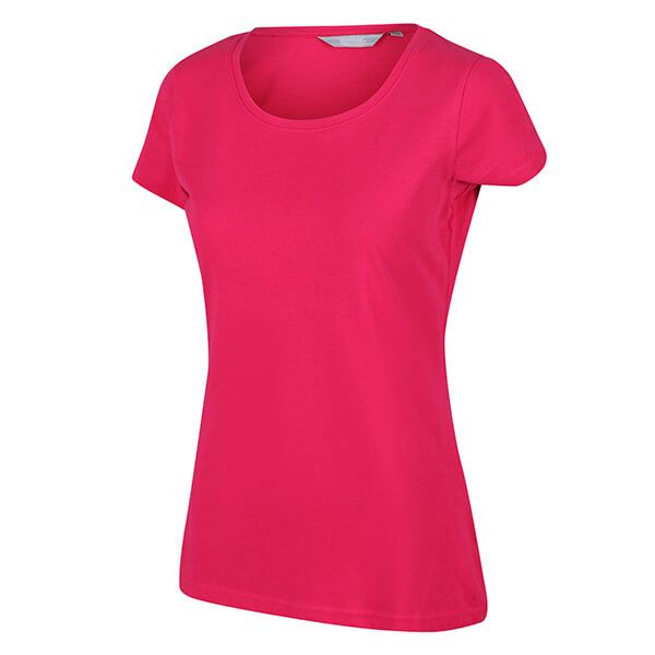 Regatta Women's Carlie Coolweave T-Shirt Dark Cerise