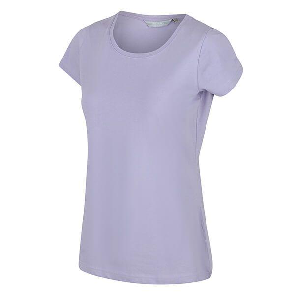 Regatta Women's Carlie Coolweave T-Shirt Lilac Bloom