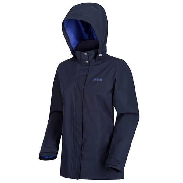 Regatta Women's Daysha Lightweight Waterproof Jacket Navy