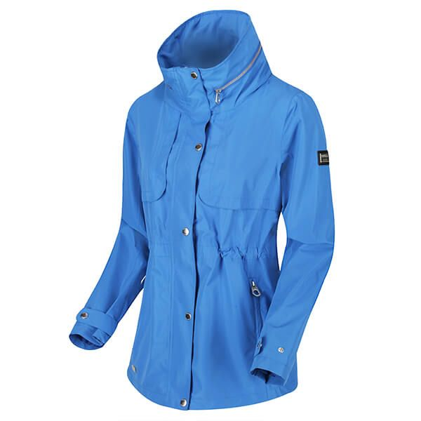 Regatta Women's Narelle Lightweight Waterproof Funnel Neck Jacket Strong Blue