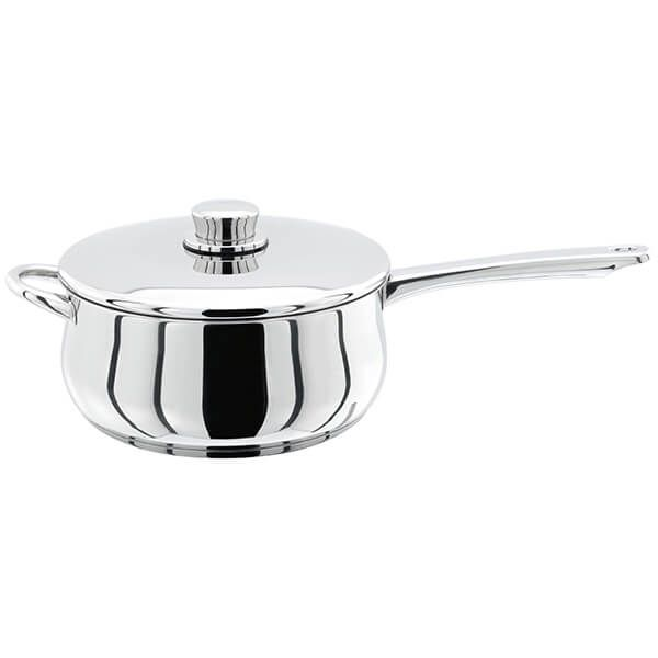 Stellar 1000 22cm Saucepan with Helper Handle