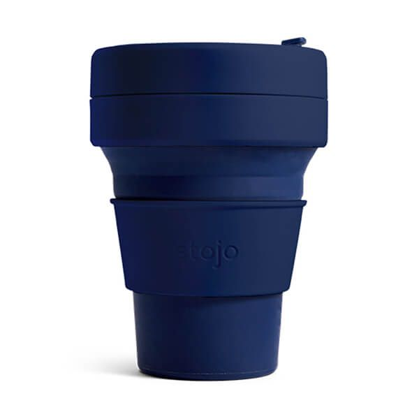 Stojo Brooklyn Denim Collapsible Pocket Cup 12oz/355ml