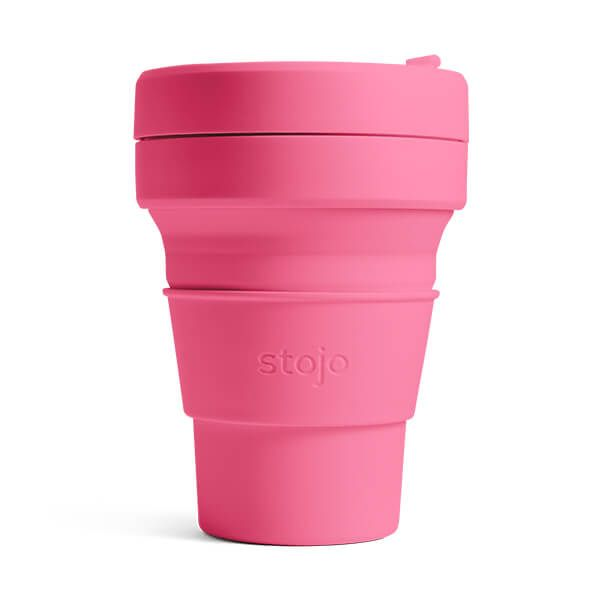 Stojo Brooklyn Peony Collapsible Pocket Cup 12oz/355ml