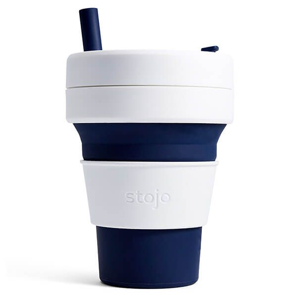 Stojo Indigo Biggie Collapsible Mug 16oz/470ml