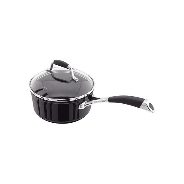 Stellar 3000 Black 18cm Saucepan