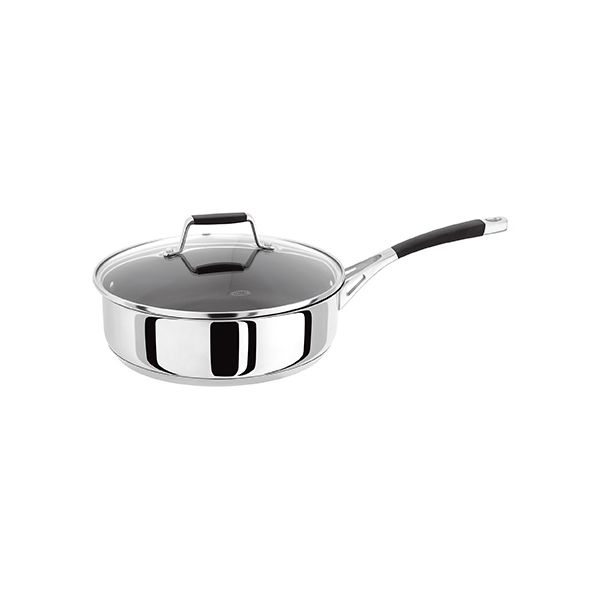 Stellar 5000 Induction 24cm Non-Stick Saute Pan