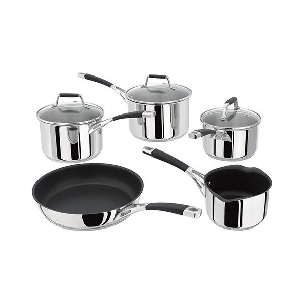 Stellar 5000 Induction 5 Piece Saucepan Set