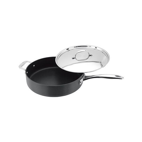 Stellar 6000 Hard Anodised 28cm Sauté Pan
