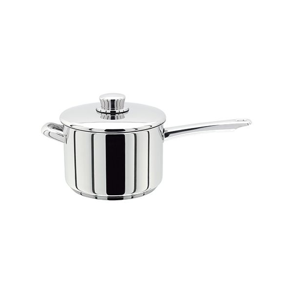 Stellar 8000 18cm Saucepan with Helper Handle