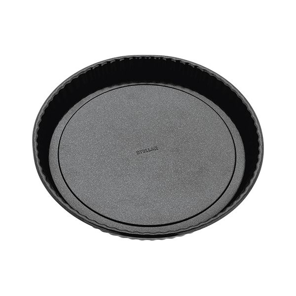 "Stellar Bakeware 10"" Fluted Flan Tin Loose Base"