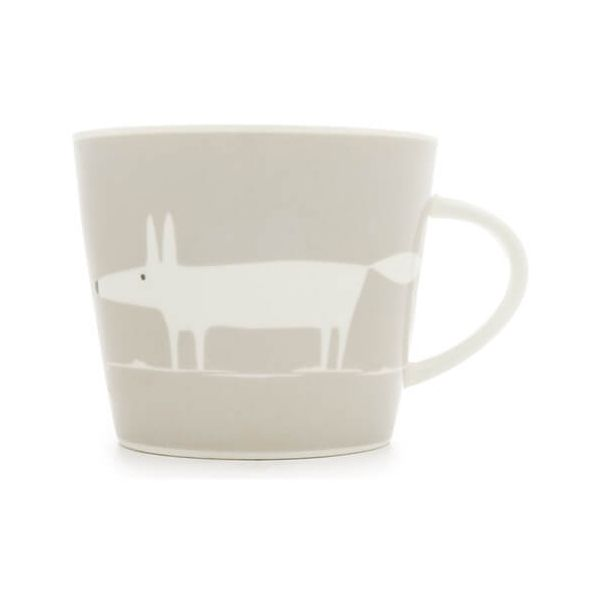 Scion Living Mr Fox Light Grey 350ml Mug