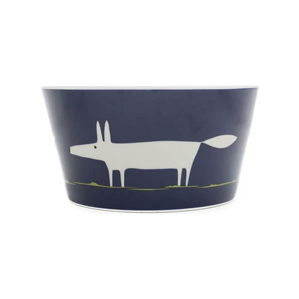 Scion Living Mr Fox Indigo Bowl