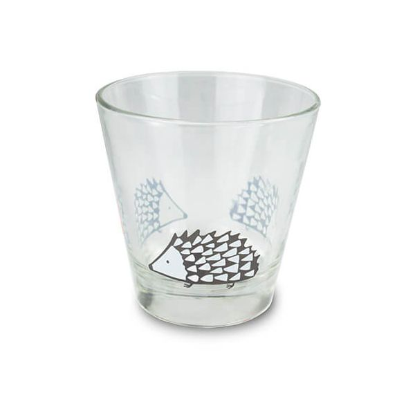 Scion Living Spike Grey Glass Tumbler