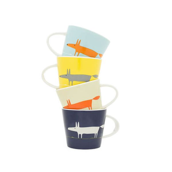 Scion Living Mr Fox Set of 4 Espresso Cups