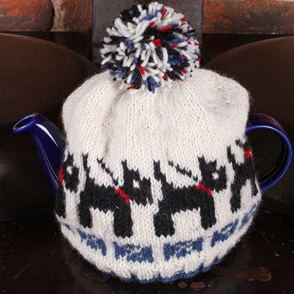 Pachamama Scottie Dog Tea Cosy