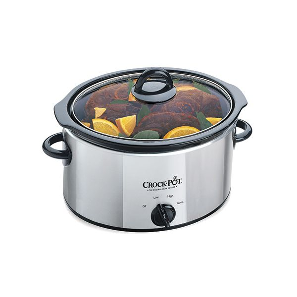 Crock Pot 3.5 Litre Polished Chrome Slow Cooker