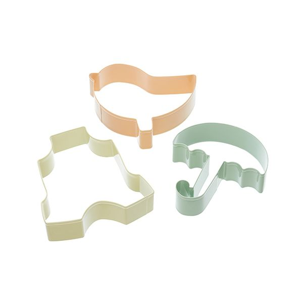 Sweetly Does It Set of Three Newborn Baby Cookie Cutters