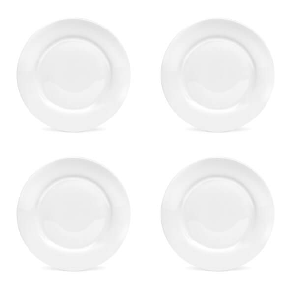 Royal Worcester Serendipity White Set of 4 Side Plates