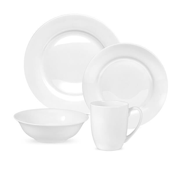 Royal Worcester Serendipity White 16 Piece Set