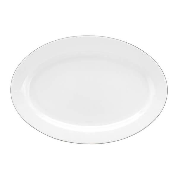 Royal Worcester Serendipity Platinum Oval Platter