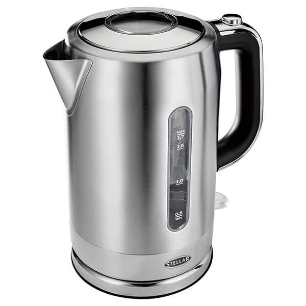 Stellar 1.7 Litre Stainless Steel Kettle