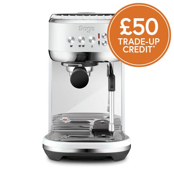 Sage The Bambino Plus Sea Salt Coffee Machine with £50 Trade-Up Credit