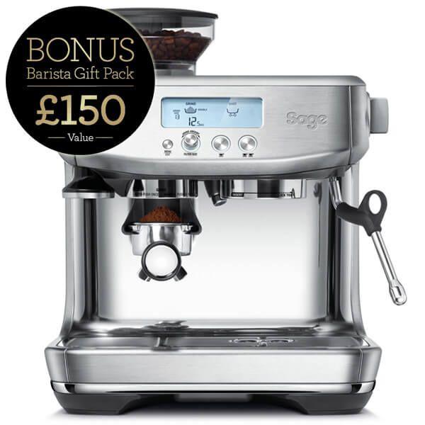 Sage The Barista Pro Coffee Machine with FREE Gift