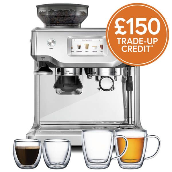 Sage The Barista Touch Coffee Machine with £150 Trade-Up Credit and FREE Gifts
