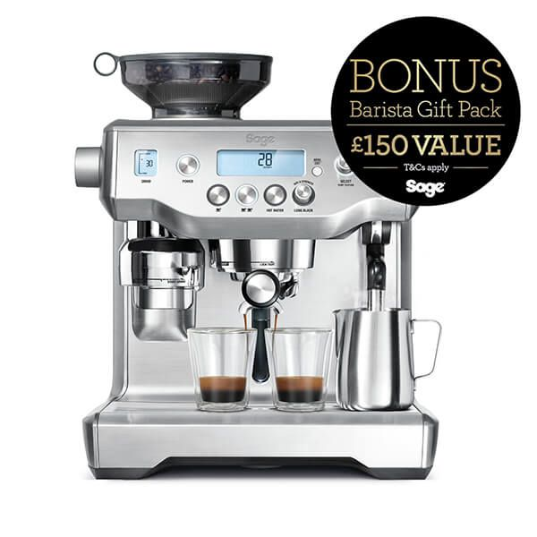 Sage The Oracle Coffee Machine with FREE Gift