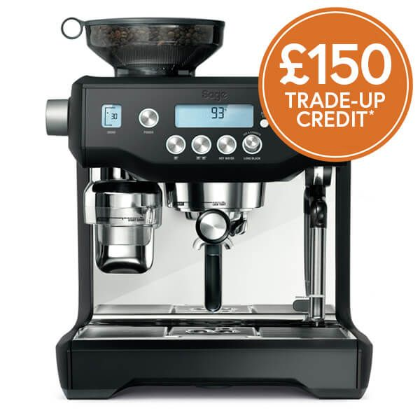 Sage The Oracle Black Truffle Coffee Machine with £150 Trade-Up Credit