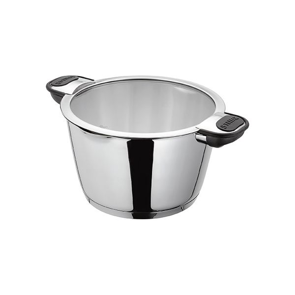 Stellar Tate 20cm Casserole With Glass Draining Lid