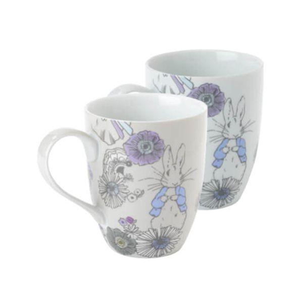 Peter Rabbit Contemporary Mug Set of 2