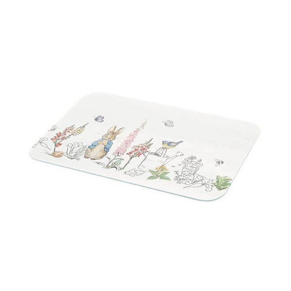 Peter Rabbit Contemporary Glass Worktop Protector