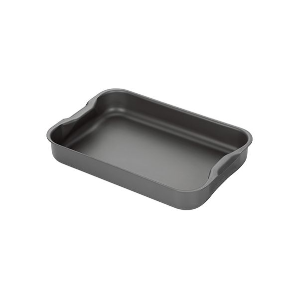 Stellar Hard Anodised 32 x 22cm Roasting Tray With Handle