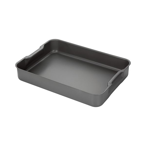 Stellar Hard Anodised 42 x 30cm Roasting Tray With Handle