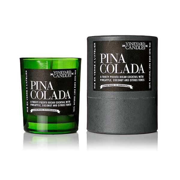 Vineyard Shot Glass Pina Colada Candle
