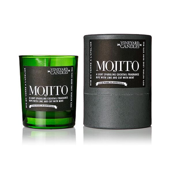 Vineyard Shot Glass Mojito Candle
