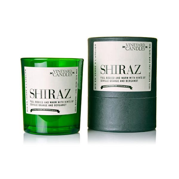 Vineyard Shot Glass Shiraz Candle