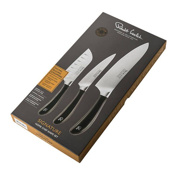 Robert Welch Signature 3 Piece Home Chef Knife Set
