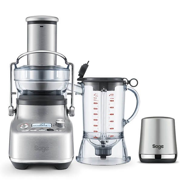 Sage 3X Bluicer Pro Brushed Stainless Steel with FREE Gift