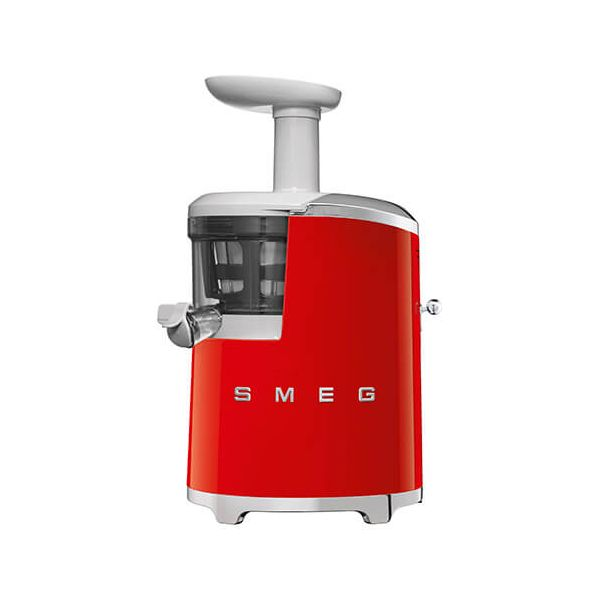 Smeg Retro Style Slow Juicer, Red