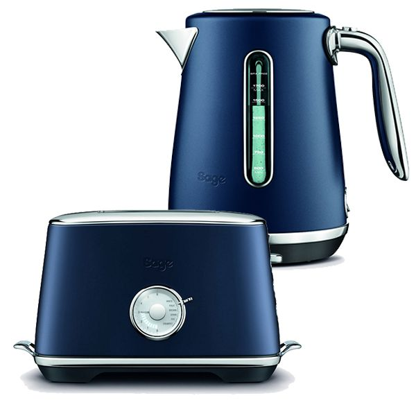 Sage Kettle & Toaster Set Select Luxe Damson Blue